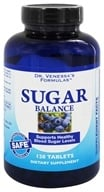 Dr. Venessa's Formulas - Sugar Balance with Banaba Leaf - 120 Tablets - $18.98
