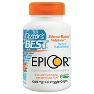Doctor's Best - EpiCor 500 mg. - 60 Vegetarian Capsules, from category: Nutritional Supplements