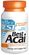 Doctor's Best - Best Acai 500 mg. - 120 Vegetarian Capsules CLEARANCED PRICED (753950001565)