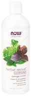NOW Foods - Natural Herbal Revival Conditioner For Damaged Hair - 16 oz.