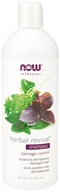 Image of NOW Foods - Natural Herbal Revival Shampoo For Damaged Hair - 16 oz.