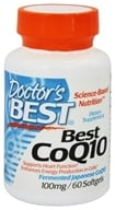 Doctor's Best - Best CoQ10 100 mg. - 60 Softgels