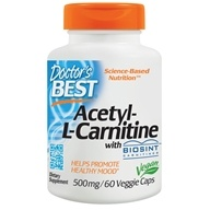 Doctor's Best - Best Acetyl-L-Carnitine Featuring Sigma Tau Carnitine 588 mg. - 60 Capsules by Doctor's Best