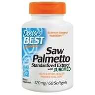 Doctor's Best - Best Saw Palmetto Extract 320 mg. - 60 Softgels, from category: Nutritional Supplements