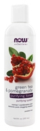 Image of NOW Foods - Green Tea and Pomegranate Purifying Toner - 8 oz.