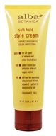 Alba Botanica - Style Cream Soft Hold - 4 oz. - $6.54