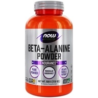 NOW Foods - Beta-Alanine 100% Pure Powder - 500 Grams (733739020079)
