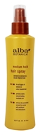 Alba Botanica - Hair Spray Medium Hold - 8 oz.