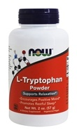 NOW Foods - L-Tryptophan Powder - 2 oz. (733739002631)