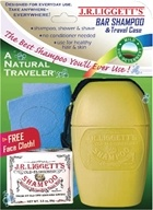 JR Liggett's - A Natural Traveler Old Fashioned Shampoo Travel Pack