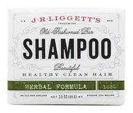 JR Liggett's - Old-Fashioned Shampoo Bar Herbal Formula - 3.5 oz. (049056102023)