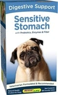 ReNew Life - Sensitive Stomach Digestive Support for Dogs - 60 Chewable Tablets formerly Healthy Digestion for Dogs - $21.24