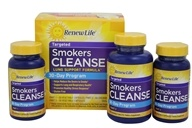 ReNew Life - Smokers Cleanse 30-Day Program - 120 Capsules by ReNew Life