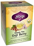 Yogi Tea - Green Tea Goji Berry - 16 Tea Bags, from category: Teas