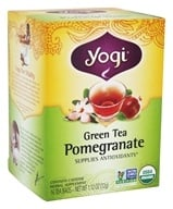Yogi Tea - Green Tea Pomegranate - 16 Tea Bags (076950450622)