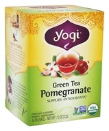 Yogi Tea - Green Tea Pomegranate - 16 Tea Bags, from category: Teas