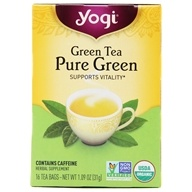 Yogi Tea - Green Tea Pure Green - 16 Tea Bags Formerly Simply Green - $2.99