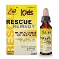 Bach Original Flower Remedies - Rescue Remedy Kids Stress Relief - 10 ml. (741273001041)
