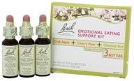 Bach Original Flower Remedies - Emotional Eating Support Kit 3 x 10 ml. bottles (741273002000)