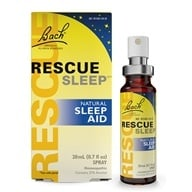 Image of Bach Original Flower Remedies - Rescue Remedy Sleep Natural Sleep Aid - 20 ml.