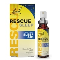 Bach Original Flower Remedies - Rescue Remedy Sleep Natural Sleep Aid - 20 ml. (741273014492)