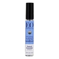 EO Products - Hand Sanitizing Spray Travel Size Organic Lavender - 0.33 oz. OVERSTOCKED