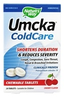 Nature's Way - Umcka Cold Care Cherry - 20 Chewable Tablets (033674151440)