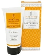 Deep Steep - Body Butter Tangerine-Melon - 6 oz., from category: Personal Care