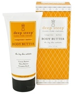 Deep Steep - Body Butter Tangerine-Melon - 6 oz.