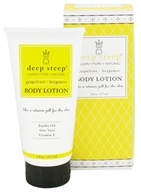 Deep Steep - Body Lotion Grapefruit-Bergamot - 6 oz. - $5.98