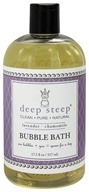 Deep Steep - Bubble Bath Lavender Chamomile - 17.5 oz. (674749010820)