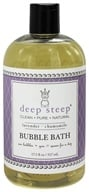 Image of Deep Steep - Bubble Bath Lavender Chamomile - 17.5 oz.