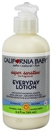 California Baby - Everyday Lotion Super Sensitive No Fragrance - 6.5 oz.
