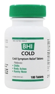Image of BHI/Heel - Cold - 100 Tablets