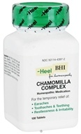 BHI/Heel - Chamomilla Complex - 100 Tablets, from category: Homeopathy