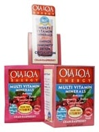 Image of Ola Loa - Energy Multi Vitamin Effervescent Cran-Raspberry - 30 x 8g Packets