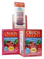 Ola Loa - Energy Multi Vitamin Effervescent Cran-Raspberry - 30 x 8g Packets (680475123017)