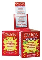 Ola Loa - Sport Effervescent Vitamin Drink Mixed Berry - 30 x 8g Packets - $17.99