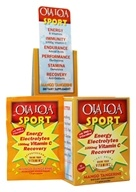 Ola Loa - Sport Effervescent Vitamin Drink Mango Tangerine - 30 x 8g Packets, from category: Vitamins & Minerals