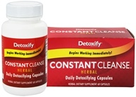 Image of Detoxify Brand - Constant Cleanse Herbal - 60 Capsules