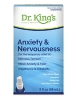 Homeopathic Natural Medicine Anxiety & Nervousness - 2 oz.