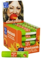Kiss My Face - Organic Lip Balm Sliced Peach 15 SPF - 0.15 oz. LUCKY DEAL