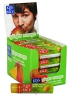 Kiss My Face - Organic Lip Balm Ginger Mango 15 SPF - 0.15 oz. CLEARANCE PRICED