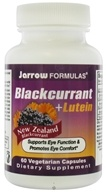 Jarrow Formulas - Blackcurrant + Lutein - 60 Vegetarian Capsules, from category: Nutritional Supplements