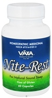 Vaxa - Nite-Rest - 60 Capsules, from category: Homeopathy
