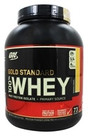 Optimum Nutrition - 100% Whey Gold Standard Protein Banana Cream - 5 lbs., from category: Sports Nutrition