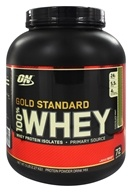 Optimum Nutrition - 100% Whey Gold Standard Protein Chocolate Mint - 5 lbs., from category: Sports Nutrition