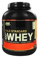 Image of Optimum Nutrition - 100% Whey Gold Standard Protein Strawberry Banana - 5 lbs.