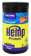 Jarrow Formulas - Hemp Protein Certified Organic Unflavored - 16 oz. by Jarrow Formulas