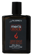Image of Aubrey Organics - Men's Stock Spice Island After Shave - 4 oz.